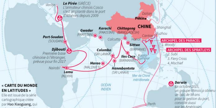 La Chine Se Cartographie Au Centre Du Monde