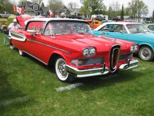 Une Edsel Citation, version haut de gamme, de 1959.