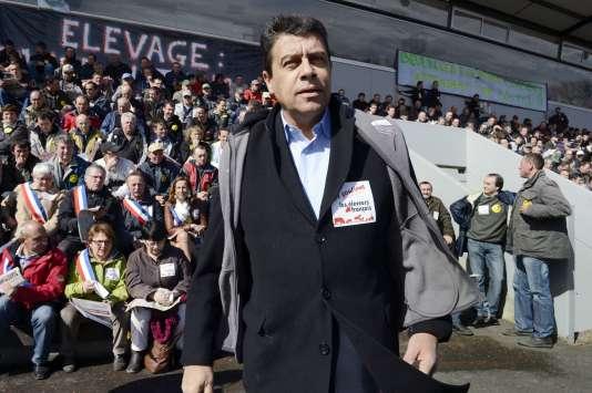 Xavier Beulin, président de la FNSEA, en avril 2013.