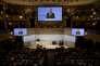 Jens Stoltenberg, secrétaire général de l'Otan, lors de la 53e conférence sur la sécurité à Munich, le 18 février.