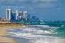 Les tours Trump dominent Sunny Isles Beach au nord de Miami, en 2013.