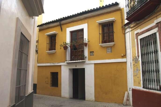 La maison natale du peintre Diego Vélasquez (1599-1660) à Séville.