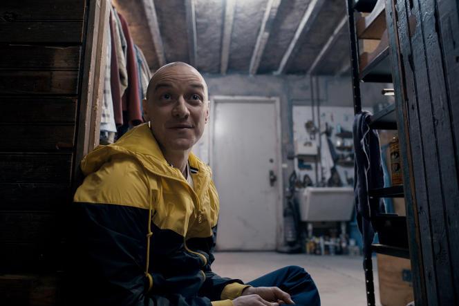 Dans le film de M.Night Shyamalan, «Split»,James McAvoy interprète Kevin, un homme qui a 24 personnalités. Ici, il est Hedwig.