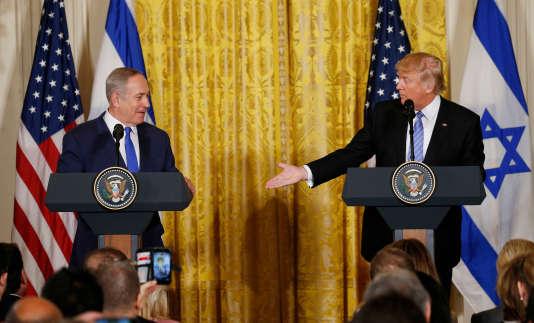Donald Trump a rejeté les questions sur la montée de l'antisémitisme aux Etats-Unisla considérant comme « insultante », se décrivant comme « la personne la moins antisémite ».