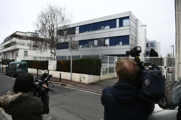 Le siège du Front national à Nanterre (Hauts de Seine) le 20 février.