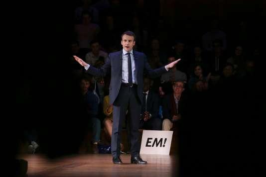 Emmanuel Macron, à Londres, mardi 21février.