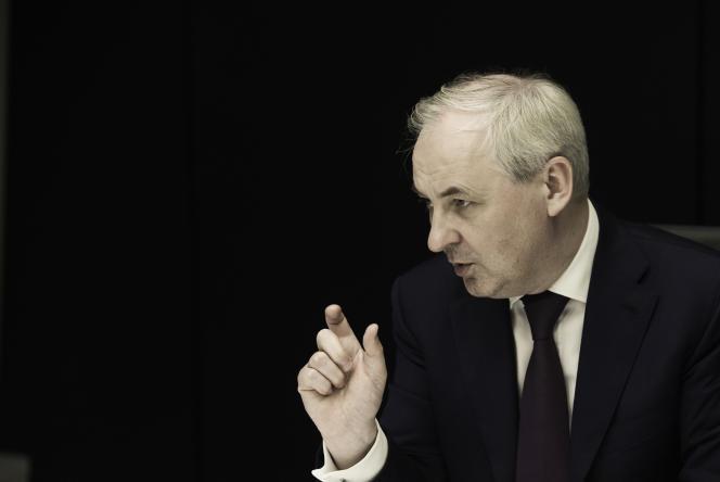 François Pérol, président du directoire de BPCE, en décembre 2016.