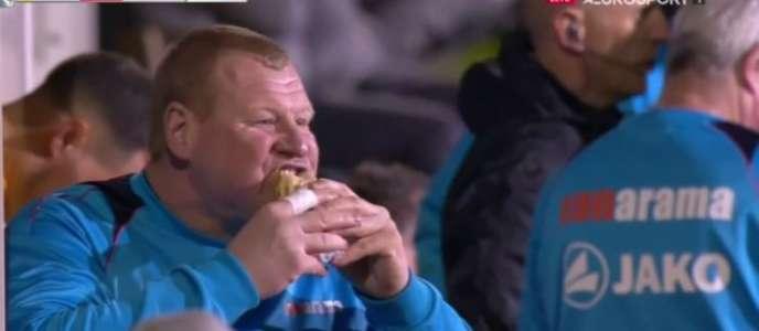 Wayne lors du match face à Arsenal.