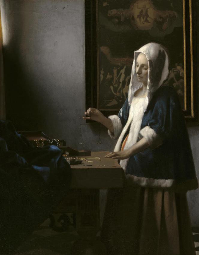 « La Femme à la balance », de Johannes Vermeer (1632-1675).