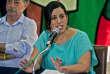 L'ancienne candidate de la gauche à la présidentielle péruvienne, Veronika Mendoza, à Lima, le 7 février.
