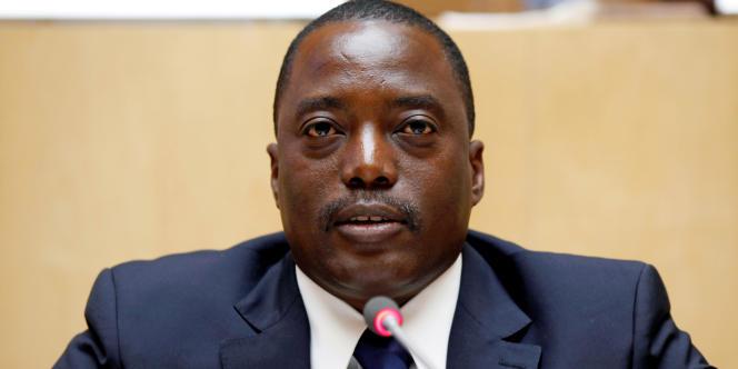 Le président congolais Joseph Kabila en février 2013, à Addis-Abeba.