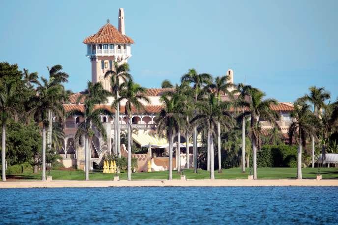 Donald Trump passe la plupart de ses week-ends dans son club privé Mar-a-Lago, à Palm Beach, en Floride.
