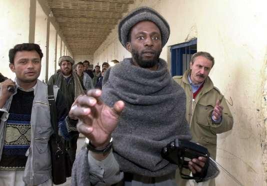 Ronald Fiddler le 13 décembre 2001 à Kandahar, en Afghanistan.