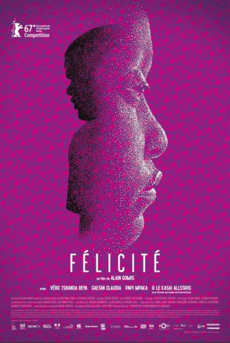 Affiche du film «Félicité», d'Alain Gomis.