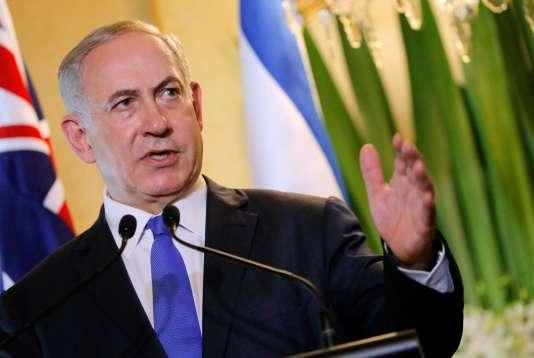 Le premier ministre israélien Benyamin Nétanyahou, en Australie, le 22 février.