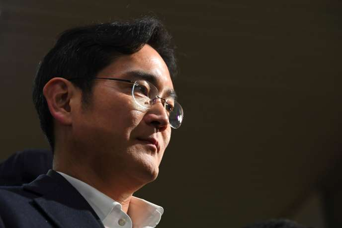 Lee Jae-yong, l'héritier de Samsung, le 22 février.