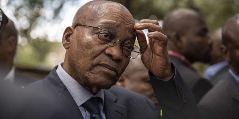 Le président sud-africain Jacob Zuma, en novembre 2016.