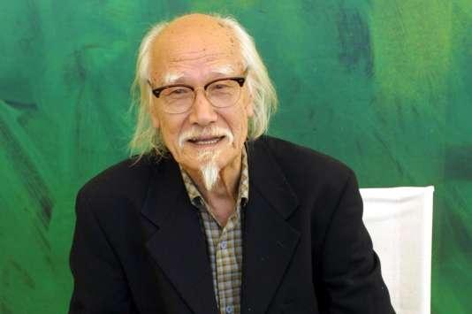 Le réalisateur japonaisSeijun Suzuki, le 2 septembre 2001, pour le 58e Festival international du film de Venise.