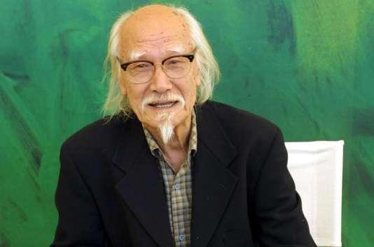 Le réalisateur japonais Seijun Suzuki à Venise, le 2 septembre 2001.