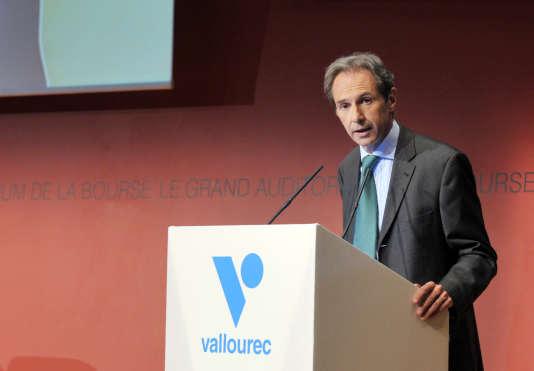 Philippe Crouzet, président du directoire de Vallourec.