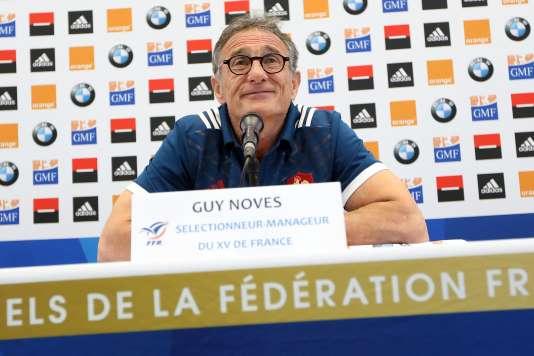 Guy Novès, le 23 février à Nice.