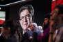 Jean-Luc Mélenchon, invité de « L'Emission politique», sur France 2, le 23 février.