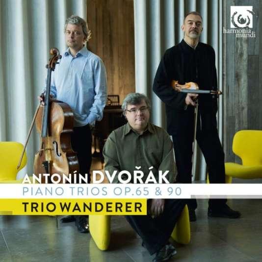 Pochette de l'album consacré à Antonin Dvorak par le Trio Wanderer.
