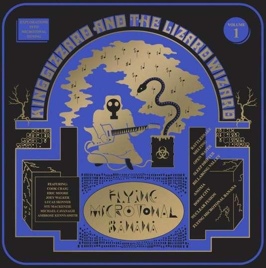Pochette de l'album « Flying Microtonal Banana », de King Gizzard and the Lizard Wizard.