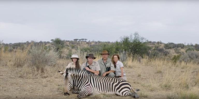 Une scène de «Safari», d'Ulrich Seidl.