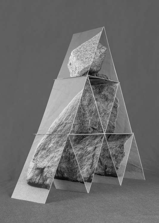 «#109 after Fischli and Weiss», de Michel Le Belhomme (2016), série «Les deux labyrinthes»(2014-2017).