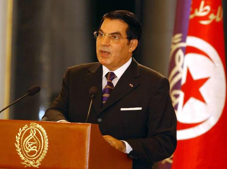 Zine El-Abidine Ben Ali en 2003.