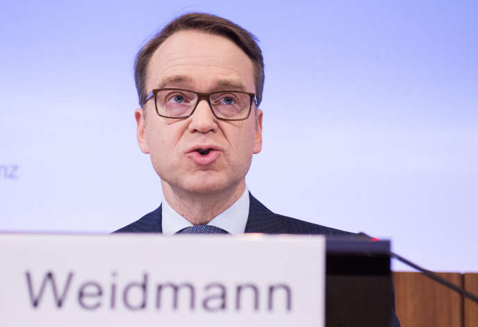 Jens Weidmann, président de la Bundesbank, le 23 février 2017.