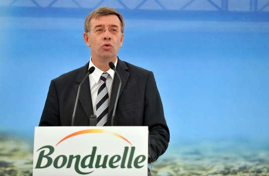 Christophe Bonduelle, PDG de l'entreprise du même nom.