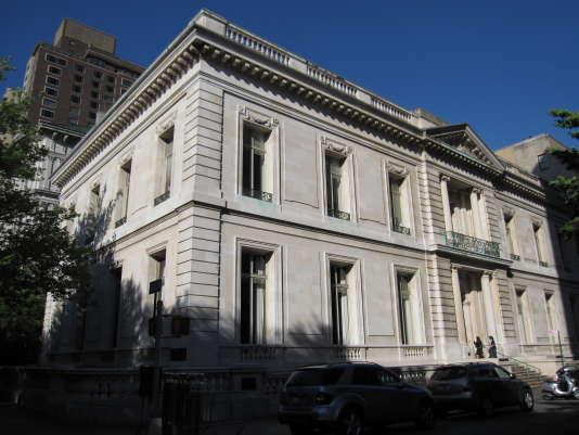 Le bâtiment de l'Institut des beaux-arts, à New York.