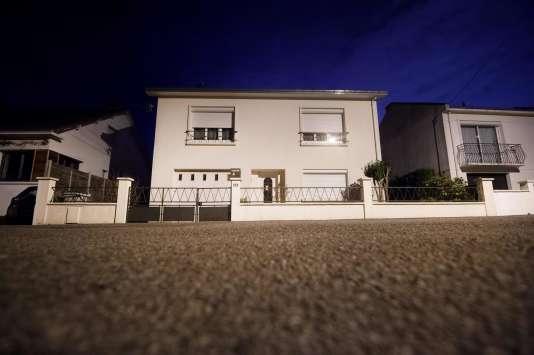 La maison de la famille disparue à Orvault au nord de Nantes.