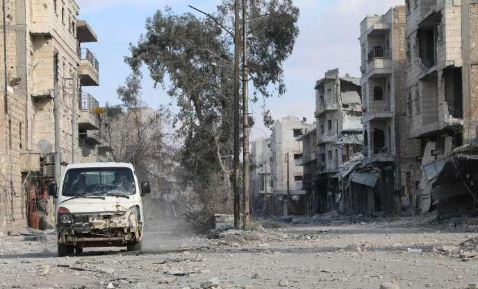 Al-Bab, dans le nord de la Syrie, vendredi 24 février.