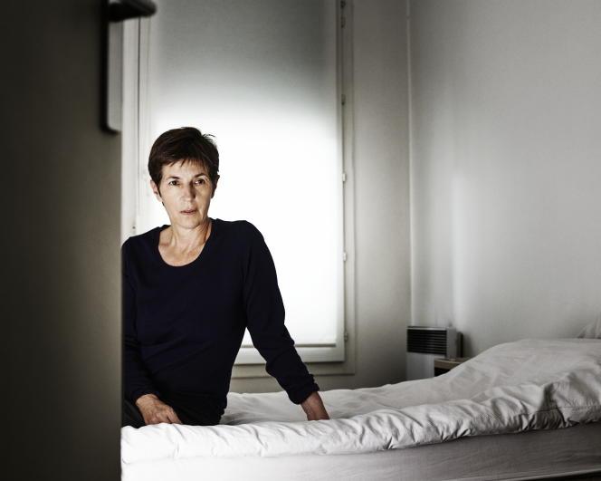 Christine Angot, en août 2015.