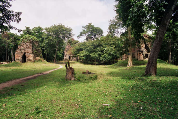 Vue d'ensemble du site de Sambor Prei Kuk au Cambodge.