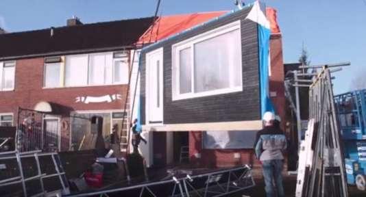 Aux Pays-Bas, quelque 1 300 maisons ont été rénovées à énergie zéro.
