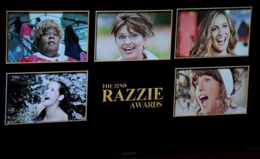 Les nommées pour les plus mauvaises actrices aux Razzies Awards : Martin Lawrence, Sarah Palin, Sarah Jessica Parker, Kristen Stewart.