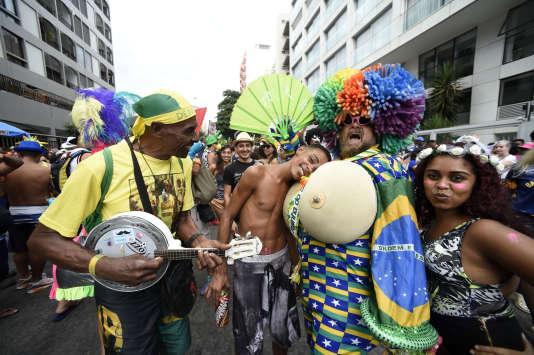 Le carnaval de Rio de Janeiro, le 25 février.
