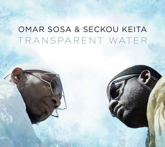 Pochette de l'album« Transparent Water», d'Omar Sosa etSeckou Keita.