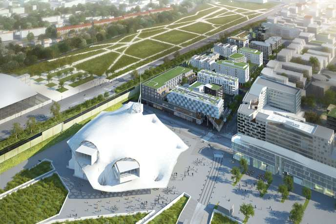 Face au centre Pompidou, le projet Muse mélange centre commercial, bureaux et logements.