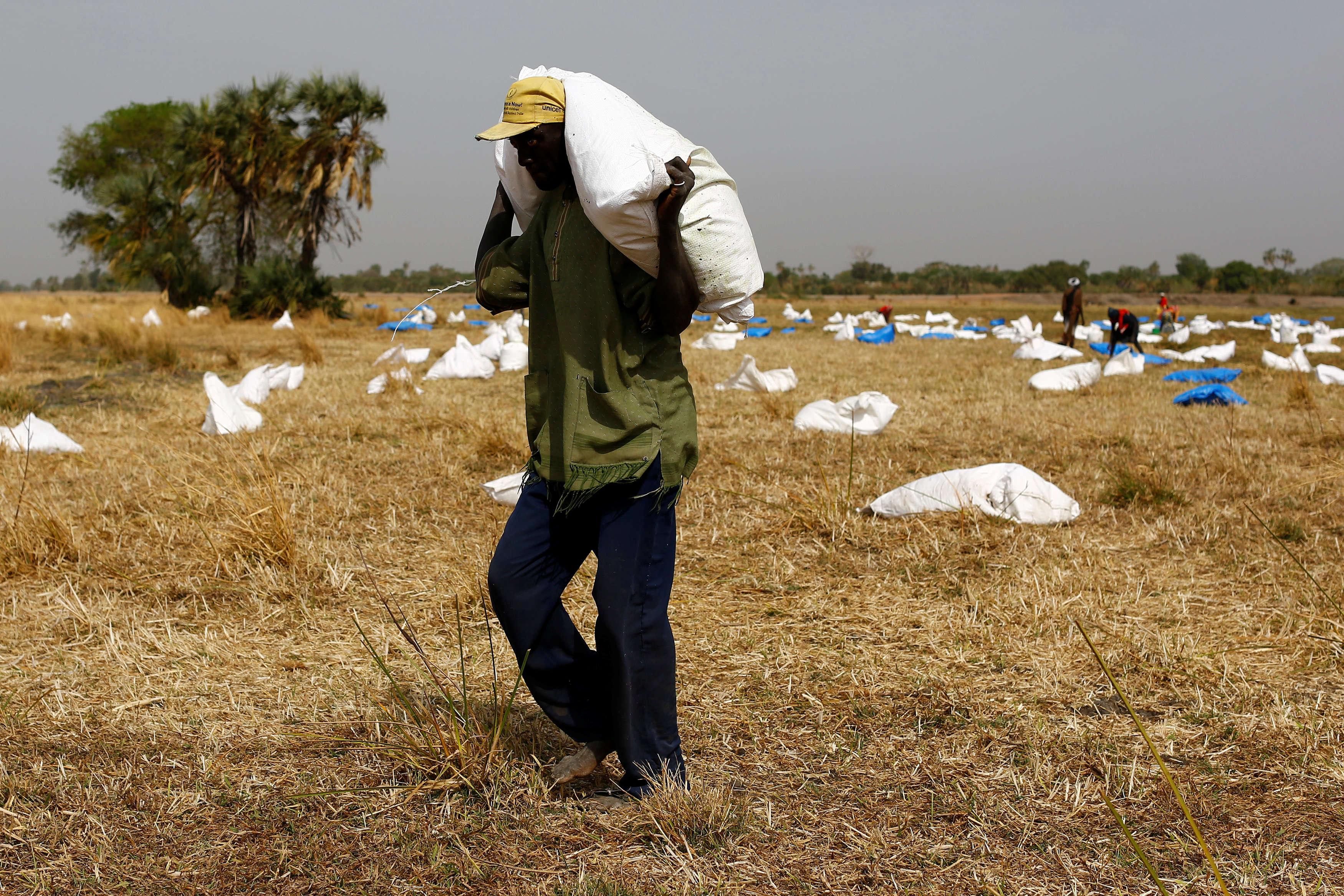 Près du village de Rubkai, au Soudan du Sud, le 18 février. Quatre jours plus tard, Antonio Guterres, le secrétaire général de l'ONU, a tenu une conférence de presse, pointant le risque de famine dans plusieurs pays du monde et soulignant en particulier la gravité des cas somaliens et sud-soudanais. « Nous sommes face à une tragédie ; nous devons éviter qu'elle devienne une catastrophe », a-t-il lancé, rappelant que tout est encore « évitable si la communauté internationale prend des actions décisives ».