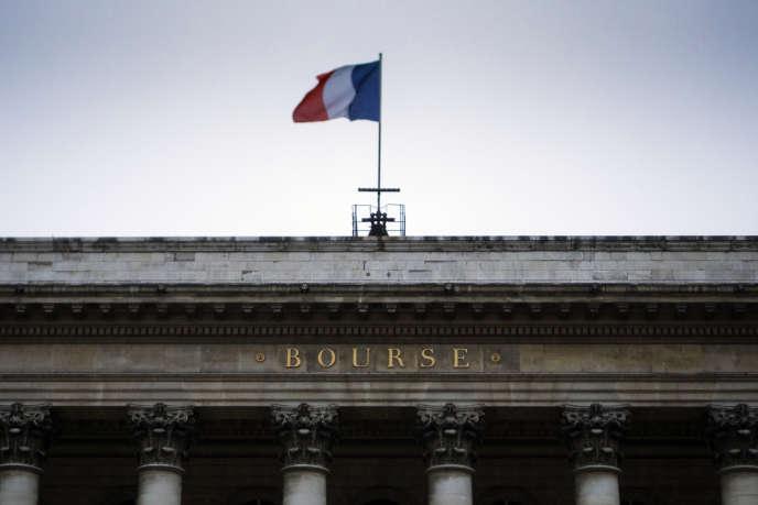 Le palais Brongniart, le 29 janvier à Paris.