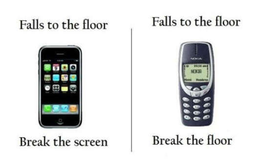 Le Nokia 3310 invincible