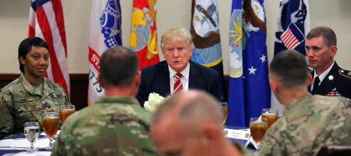 Donald Trump a fait de la sécurité et de la lutte contre le goupe Etat islamique un des grands axes de sa campagne électorale.