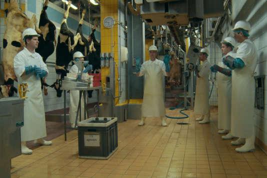 Une scène du documentaire français de Raphaël Girardot et Vincent Gaullier,«Saigneurs».