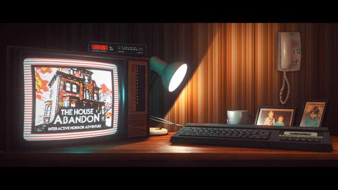«The House Abandon», le jeu dans le jeu« Stories Untold».