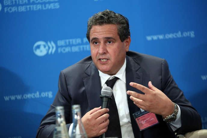 Aziz Akhannouch en octobre 2013.